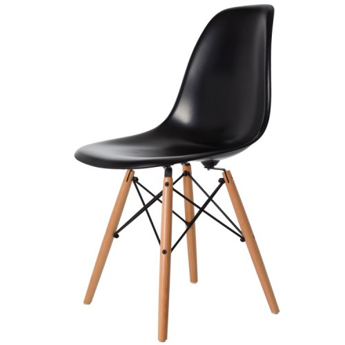 Eames DSW ABS Black