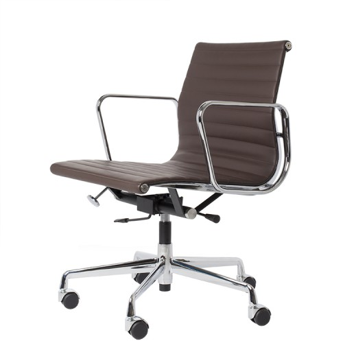 Eames officechair EA117 leather brown