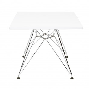 Eames CTR junior table square white