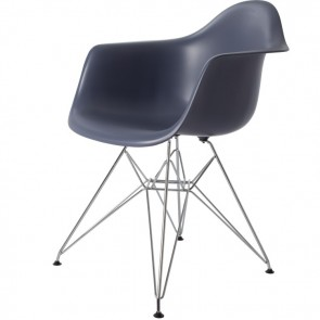 Eames DAR PP Dark Grey