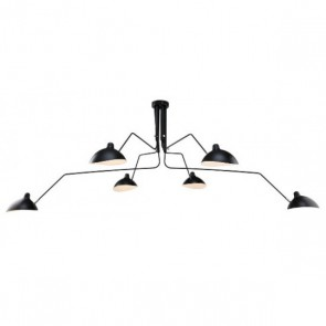 Serge Mouille Contemporary pendant light